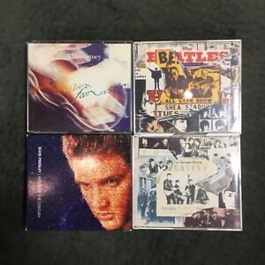 Elvis, Beatles and McCartney CD's