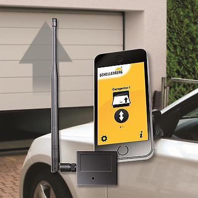 Schellenberg Smartphone Garagentorantrieb Bluetooth Handsender Garagentoröffner ()