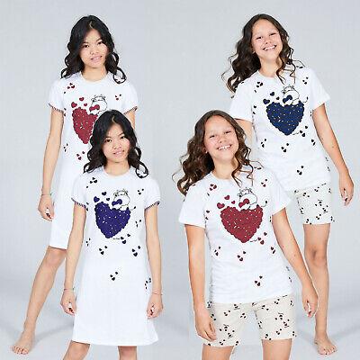 Mädchen Schlafanzug Shorty Pyjama-Set Nachtswäsche Nachthemd made in Italy