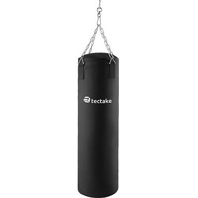 Sacco da boxe pieno 25kg con sospensione pugilato allenamento sport 105cm nuovo