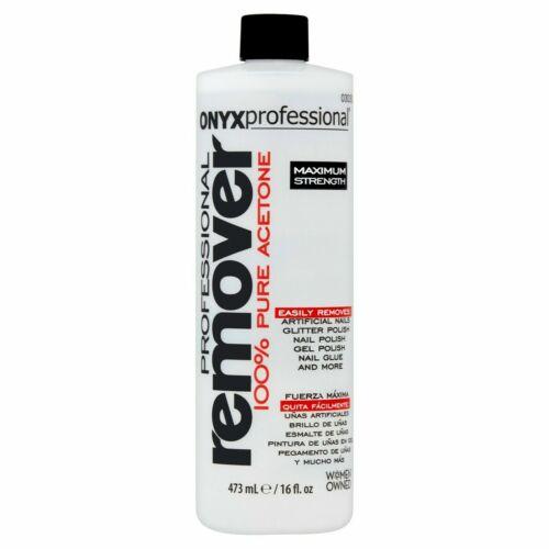 Onyx Professional 100% Acetone Nail Polish Remover 16oz Brand New Sealed