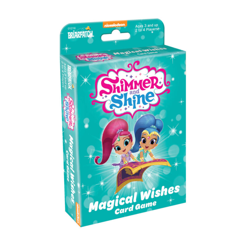 New - Briarpatch Shimmer and Shine Magical Wishes Card Game - Ages 3+