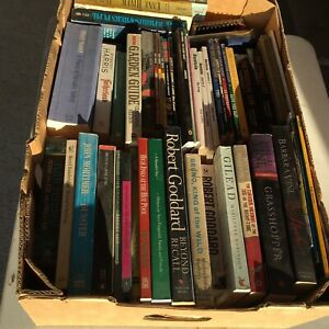 #1 Box full of books mixed $20