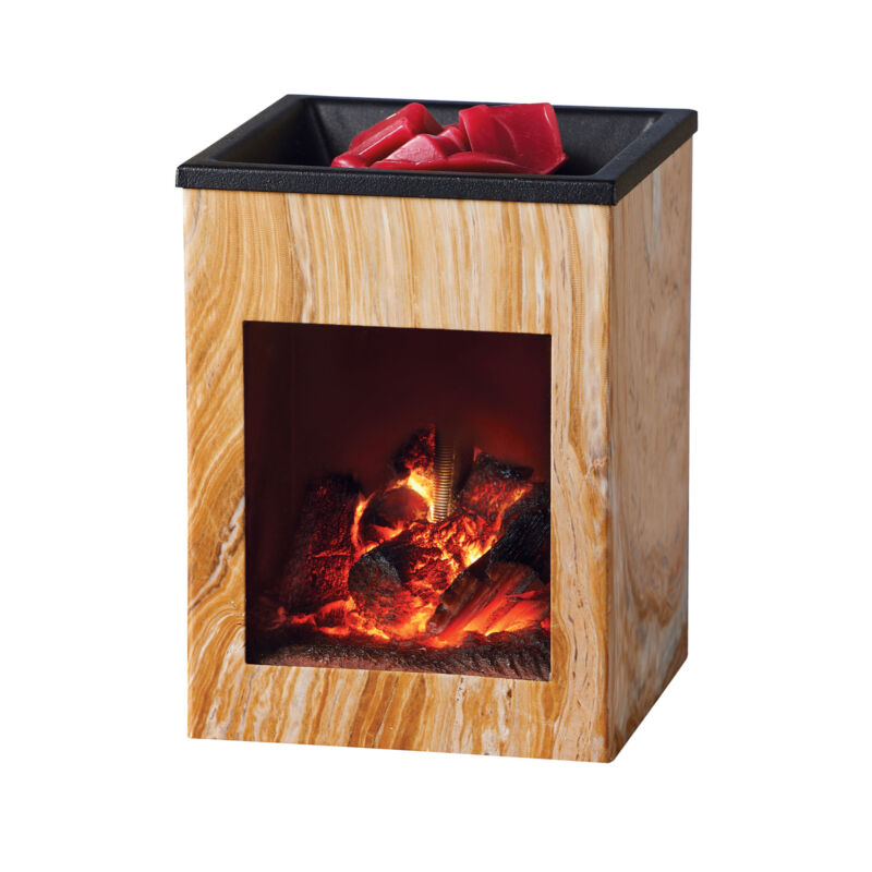 Unique Fireplace Electric Wax Warmer
