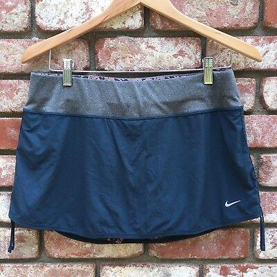 Nike Dri-Fit Skort W/ Attatched Leopard Shorts Running Tennis Sz Medium
