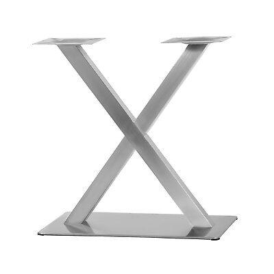 """Edelstahl Tischgestell Modell """"X"""" Untergestell Tischfuß Bistrotisch Gastro Tisch"""