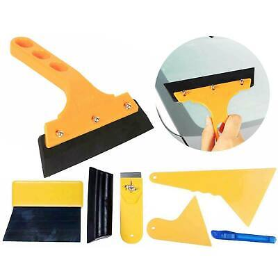 7PC Window Tint Tool Kit Auto Car Wrap Film Tinting Squeegee Razor Blade Scraper