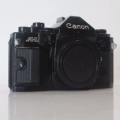 CLA'd Canon A-1 35mm SLR Camera 30-Day Returns SLR CAMERA, PRO SLR CAMERA (CA1)