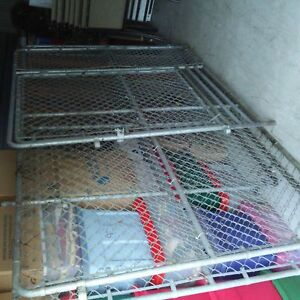 Large outdoor kennel chain link