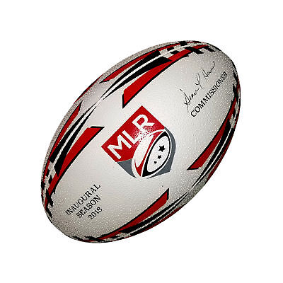 Rhino Cyclone Rugby Sports Hand Stitched 3D Grip Match Training Ball Size 3-5