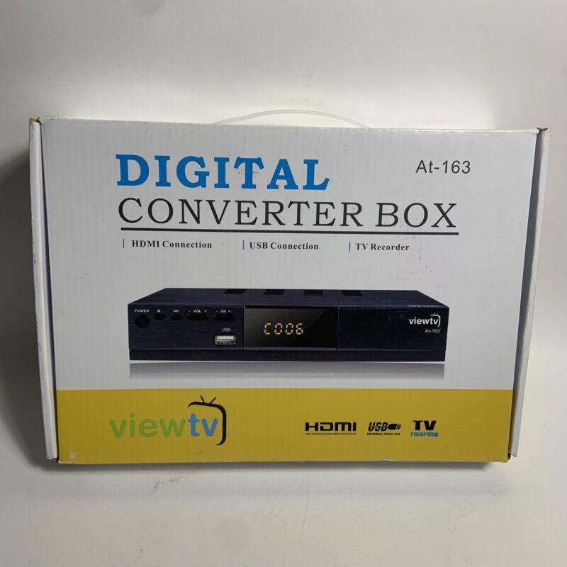 HDTV Digital TV Converter Box DVR Live Recorder PVR Tuner HDMI 1080p Cable Less