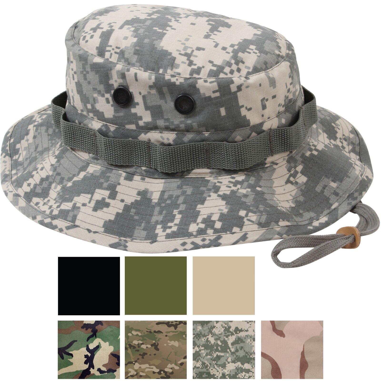 ripstop boonie hat lightweight camo wide brim