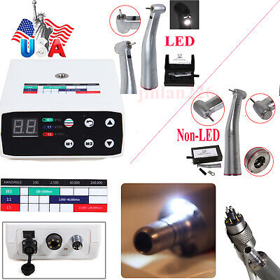 Dental Brushless Electric Micro Motor15 Increasing Led Optic Handpiece Fnsk