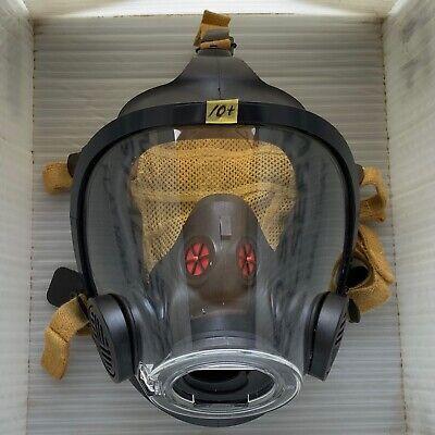 Scott Av3000 Ht Firefighter Scba Mask 5pt Kevlarheadnet Sureseal Size Medium
