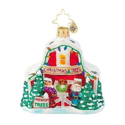 [NEW Christopher Radko NORTH POLE TREE FARM Christmas Ornament 1019662 Little Gem</Title]