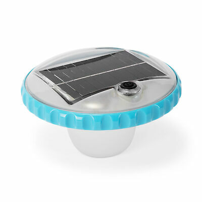 Intex 28690E Solar Powered LED Floating Pool Night Light, Auto On Color Changing