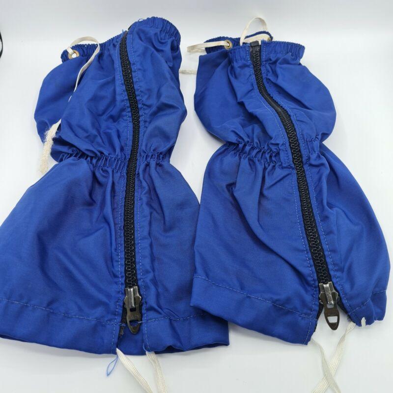 Vintage REI Blue Gaiters