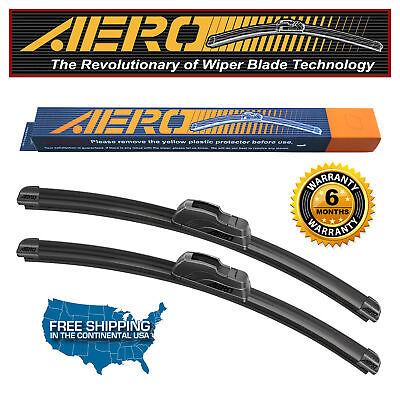 AERO 24  20 Premium All Season Beam Windshield Wiper Blades Set of 2