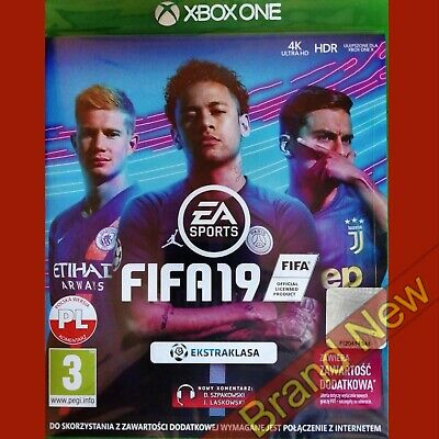 FIFA 19 - Xbox ONE ~ Polish Import - Game in English - Brand New & Sealed!