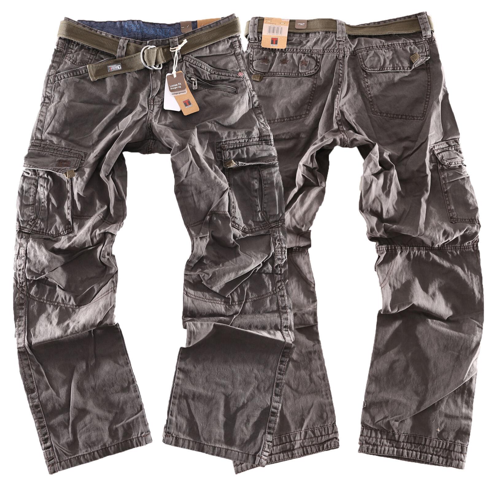 Timezone Herren Hose Benito TZ 9033 Neu 2018 Cargohose Jeans Größen wählbar b7f2c53176