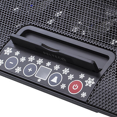 USB NOTEBOOK KÜHLER LAPTOP Cooling COOLER PAD 6 LED LÜFTER PC Tablet