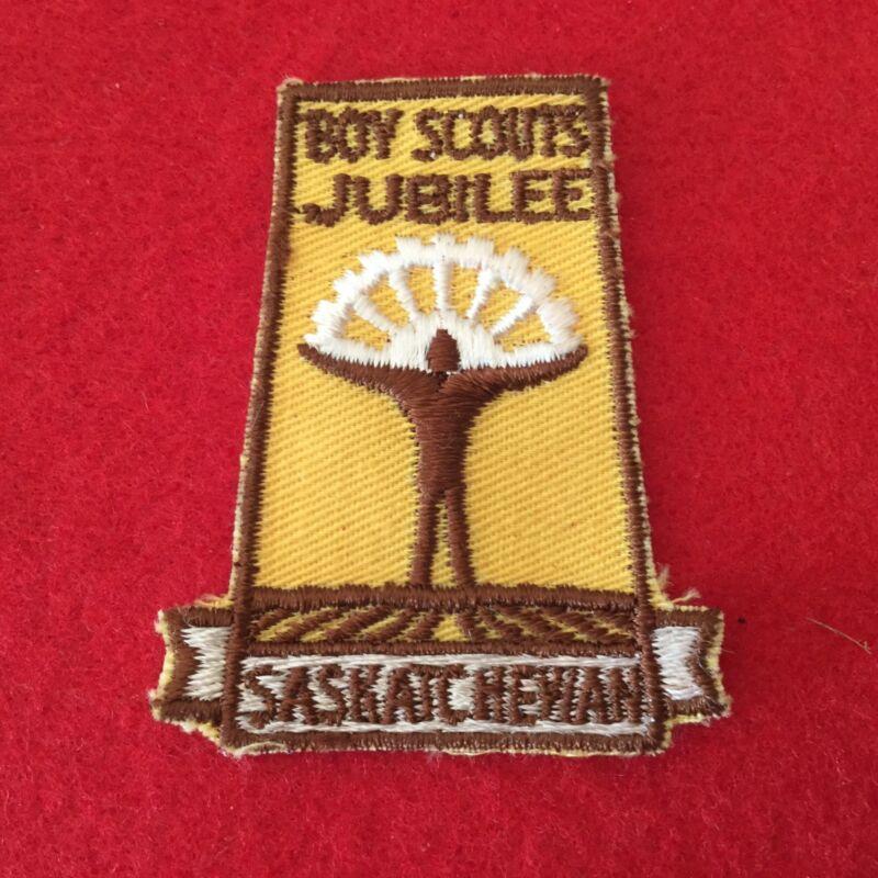 Boy Scouts Canada Jubilee Saskatchewan Patch / Badge