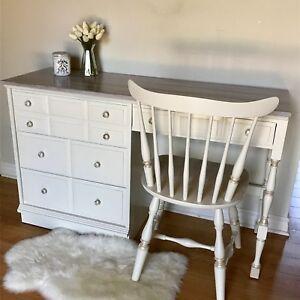 Solid Wood Desk Set /Vanity Set
