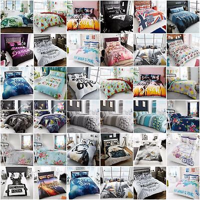 Best Printed Bedding Duvet Covers set with Pillow cases All Bed Size Quilt