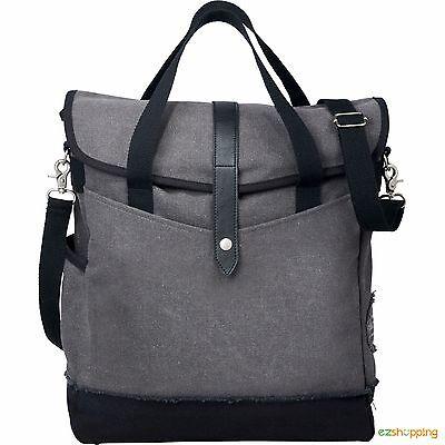 "Grey zipper Fashion Style Field & Co.® Hudson 14"" Laptop  Computer Tote Bag"