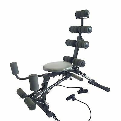 Sit-up Ab Machine W/ Thigh Glider Leg Step Machine Twisting machine Function for sale  USA