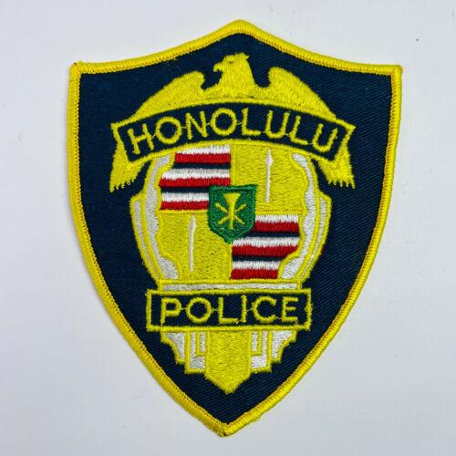 Hawaii Honolulu Police Patch