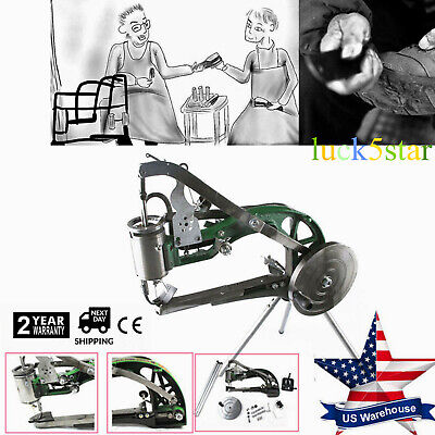 Manual Cobbler Shoe Sewing Machine Shoes Clothleather Repairs Sewing Equipment