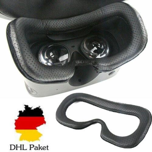 Leder Kissen Cushion Face Cover Hülle Eye Mask Pad für Oculus Rift S VR Brille