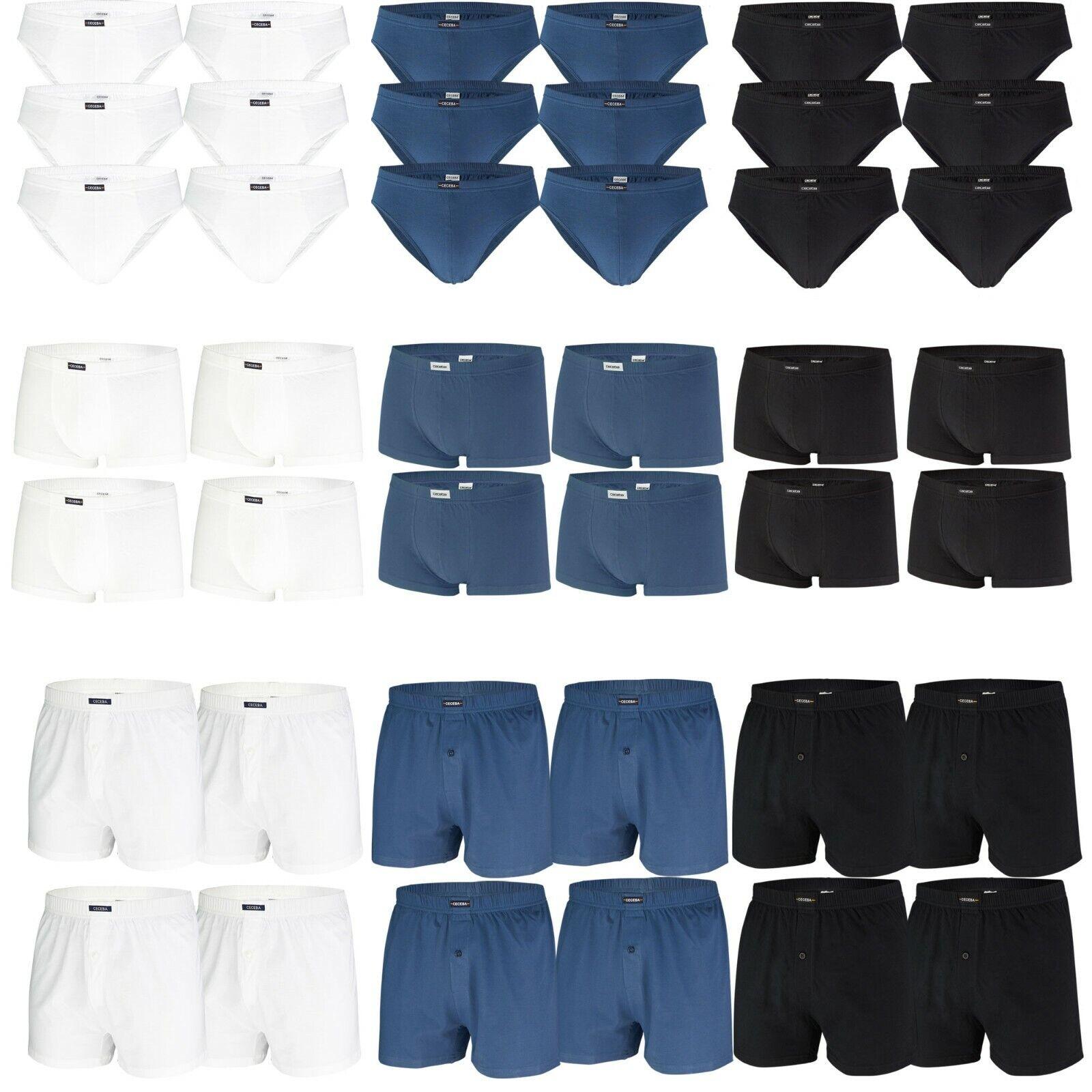 CECEBA Herren Slips Pants Boxershorts Baumwolle Unterhose | auch in Übergrößen