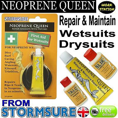 NEOPRENE QUEEN Scuba Diving Dry/ Wet Suit Repair Glue Adhesive Mend Rips (Wet Suit Glue)