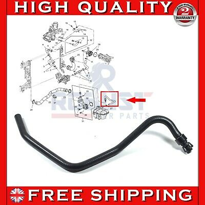 RADIATOR COOLANT BYPASS HOSE FOR VAUXHALL/OPEL INSIGNIA ASTRA MK6 1.4L 13251447
