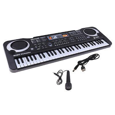 61 teclas teclado de música Digital Piano eléctrico regalo para niños Kit...