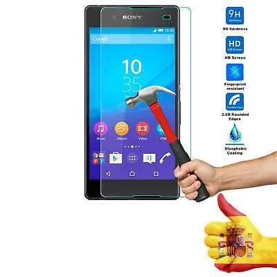 Protector Pantalla Cristal Templado para Sony Xperia Z4 Z3 + Plus E6553...