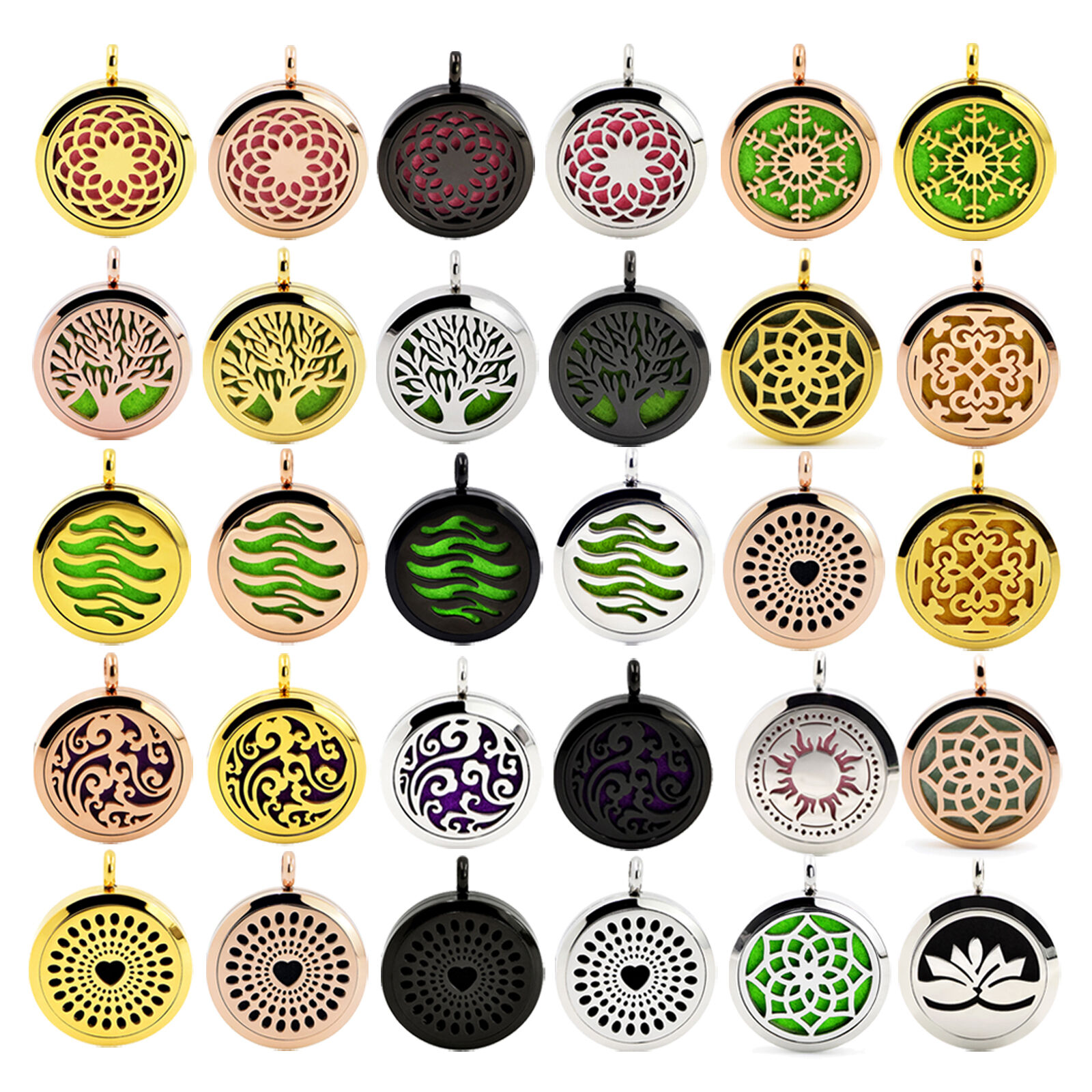 Hot Stainless Steel Aromatherapy Essential Oil Diffuser Perf