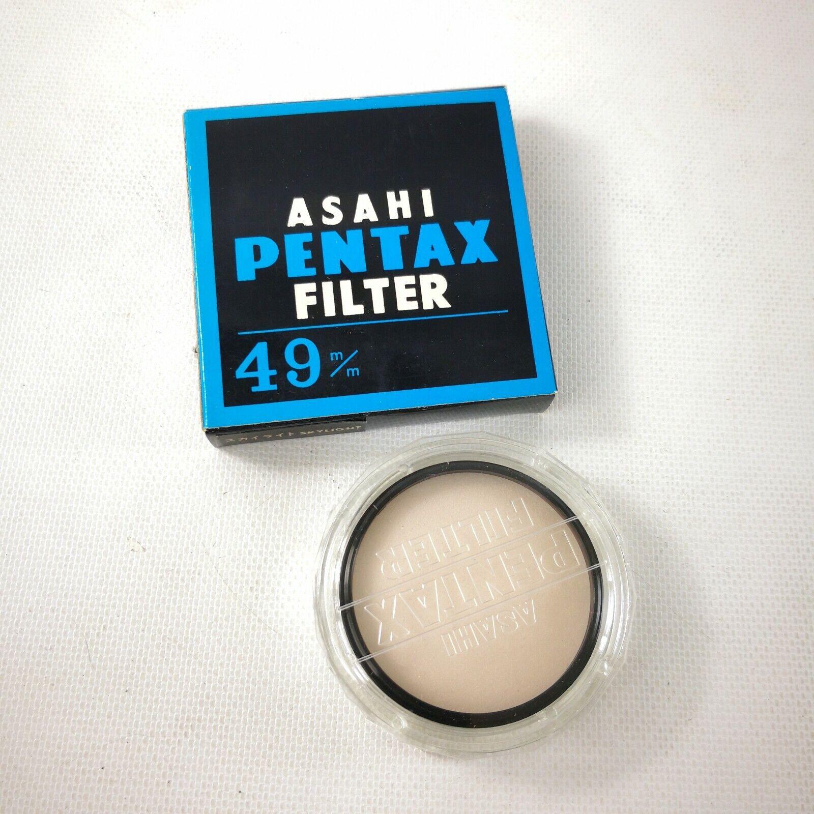 Asahi Pentax 49mm Skylight Filter  - $9.99