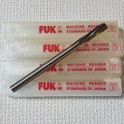 516 6 Flute Straight Shank Hss Steel Machine Reamer H7