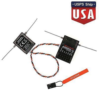 Ar6210 Dsmx 6Ch Receiver Satellite Support Dsm2 For Spektrum Transmitter Rc
