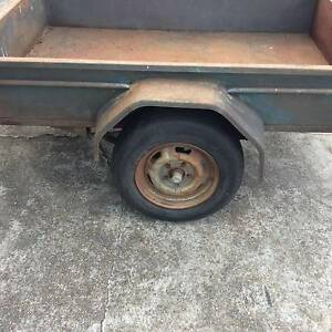 box trailer 6x4 no rego some rust in floor the rest is good very Mount Druitt Blacktown Area Preview