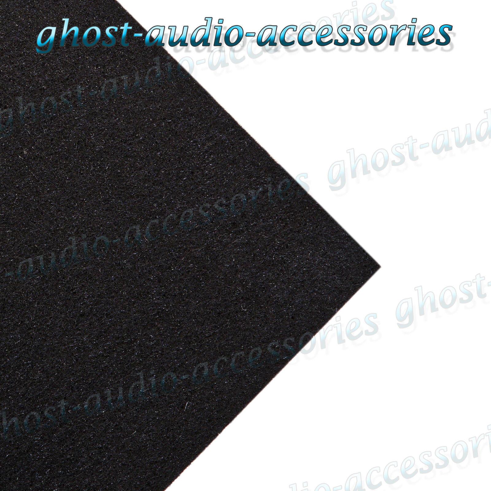 1m x noir moquette acoustique tissu pour tablette for Moquette acoustique voiture