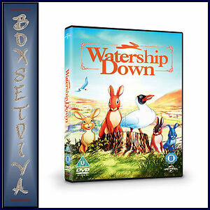 WATERSHIP-DOWN-John-Hurt-Richard-Briers-BRAND-NEW-DVD