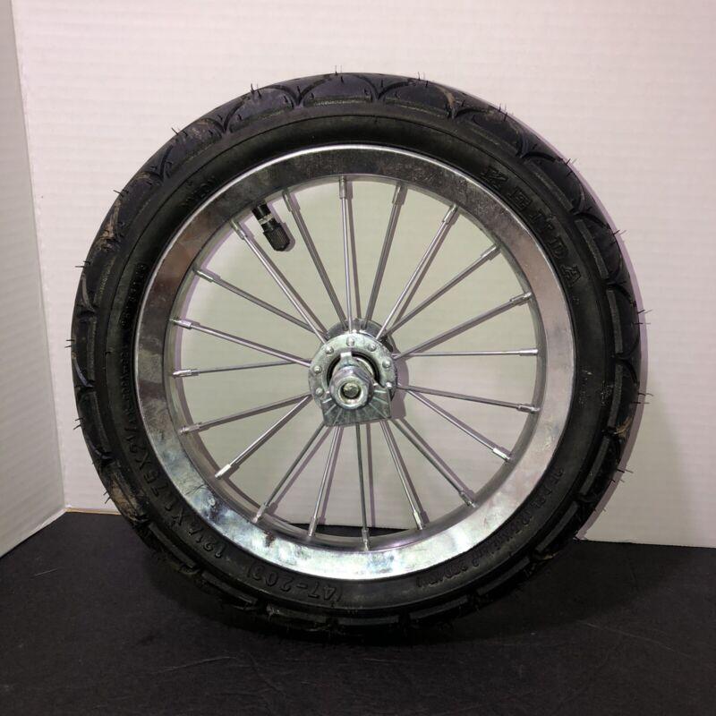 Baby Trend EX- Navigator Double Jogger Stroller Front Wheel & Tire