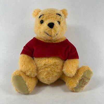 "Holiday Winnie the Pooh - 11"" Plush - Year 2002 - Disney Store - Brand New"