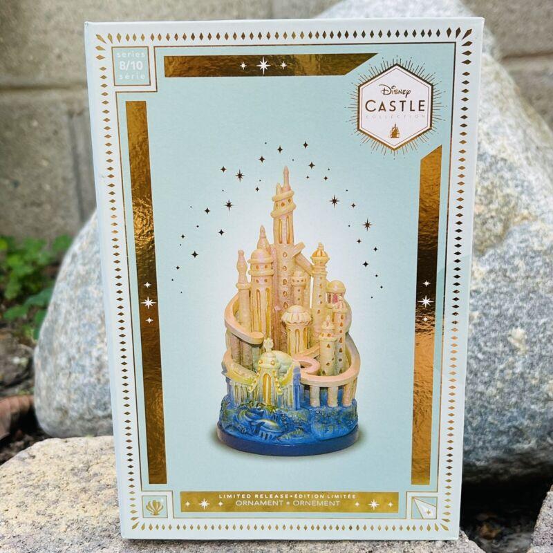 Disney Castle Collection - The Little Mermaid Ariel Castle Ornament Limited 8/10