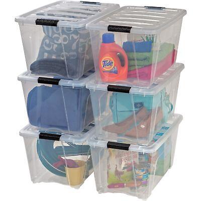 Iris Stack and Pull Box 53-Quart 16-1/2