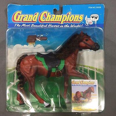 "Vintage Marchon Grand Champions Tennessee Walker Stallion Horse 7"" x 7.5""  NOS"